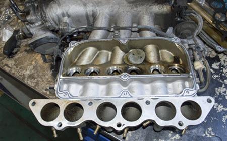 Land Rover Intake Manifold Gasket Repair